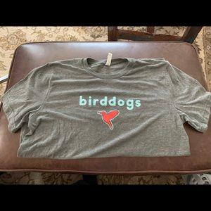 Bird dogs grey t-shirt